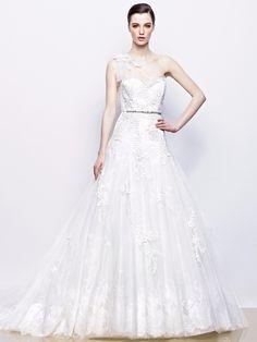 Свадебное платье Enzoani Модель Isadora   BRIDES - Салон свадебных платьев
