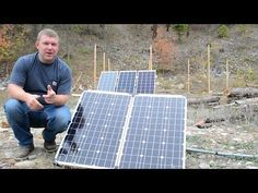 Stupid-Easy Portable Solar Panels for RV, Off Grid, Boondocking & Camping - Pure Living for Life