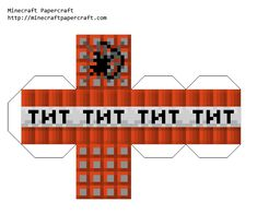 Papercraft TNT