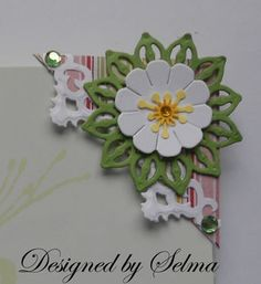 It is time for a new challenge at Joan's Gardens . This week we want you to create a CORNER BOOKMARK. We all have lots of junk mail so ...