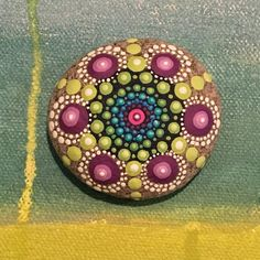Mandala de piedra por InspiredHeartArt en Etsy