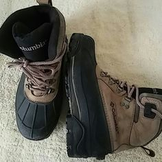 Columbia Boots Size 8 M Preowned Condition Columbia Shoes Winter & Rain Boots