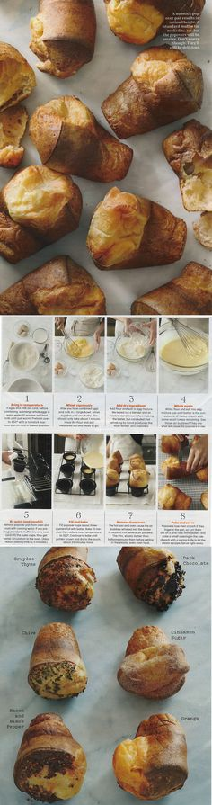 Popovers - my new obsession. Wonder if there are any lemon ones?