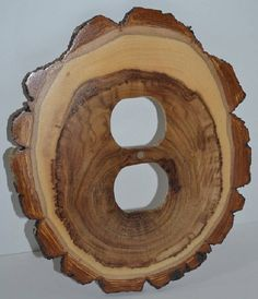 Log Slice Light Switch Receptacle Rocker Plate Covers