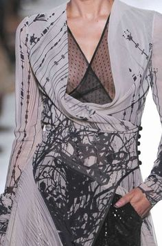 """patternprints journal: PRINTS, PATTERNS AND DETAILS INTO """"COUTURE"""" WOMAN COLLECTIONS FALL/WINTER 2014-15 / 8"""