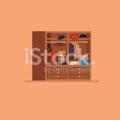 Hall elements set royalty-free stock vector art