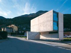 Guidotti architetti | Casa Grossi-Giordano, 2000-03 Monte Carasso.