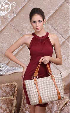 """Impression Series"" 2015 New Design !!! Vintage Handbag PU Leather"