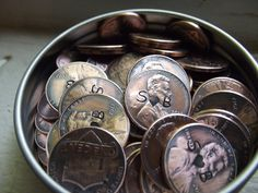 Penny favors by patsdesign on Etsy