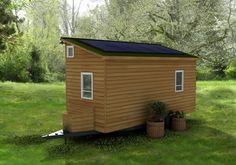 Phoenix American Tiny House Back