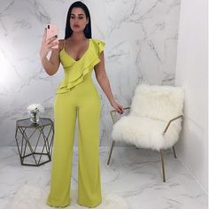 Enterizo New Outfits, Casual Outfits, Cute Outfits, Fashion Outfits, Fashion Trends, Style Blogger, Diva Boutique, Jumpsuit Pattern, Fashion Project