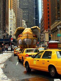 NYC. Taxi, Taxi