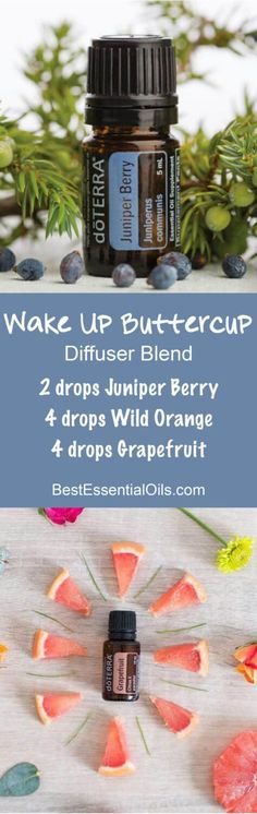 Wake Up Buttercup doTERRA Diffuser Blend