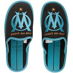 Pantoufles OM – Collection officielle Olympique de MARSEILLE – Taille adulte homme: Collection officielle Olympique de Marseille.…
