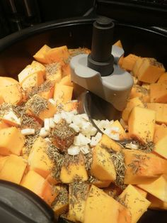 Courge_butternut_r_tie Tefal Actifry, New Kitchen Gadgets, Exotic Food, Air Fryer Recipes, Other Recipes, Cool Kitchens, Fries, Recipies, Good Food