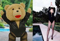 テッド?小嶋陽菜?黒のボディスーツを上手く着こなしているのはどっち? • 投票の選択肢→ テッド, 小嶋陽菜