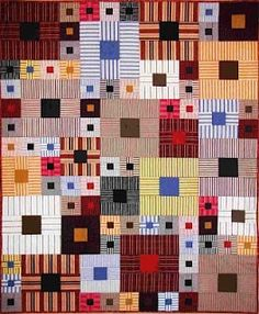 Dee's Doodles. Like the shirt material or stripe fabrics and scale of blocks.