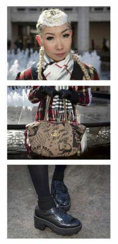 Schräge Vögel, Style-Queens & Mode-Aficionados abseits der New Yorker Modewoche: Tess Money aus New York. Mehr dazu hier: http://www.nachrichten.at/nachrichten/society/New-Yorker-Fashion-Week-gestartet;art411,1299849 (Bild: Reuters)