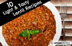Load Up on Lentils: 10 Healthy Recipes