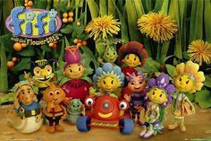 Fifi and the Flowertots : Cast - Maxi Poster 61cmx91.5cm (new & sealed)