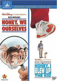 Rick Moranis & Bug Hall - Honey We Shrunk Ourselves / Honey I Blew Up The Kid Collection Lloyd Bridges, Rick Moranis, Dvd Set, 2 Movie, Family Movies, Movie Collection, Disney Pictures, Disney Movies, Movies