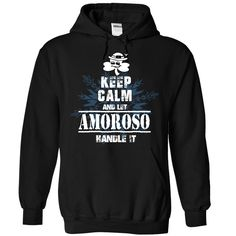 AMOROSO T Shirts, Hoodies. Check price ==► https://www.sunfrog.com/Camping/1-Black-86336337-Hoodie.html?41382