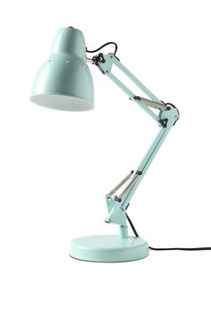 Light up every inch of your desk with this industrial inspired lamp! It has an extendible stand so you can adjust its height. Requires 1 x E14. max 40W light bulb. 230 - 240V. Light bulb not included.