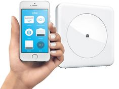 Home Depot to sell new home automation Hub from Quirky's spinoff business Wink; Hub supports Wi-Fi, Bluetooth Smart (BLE), Z-Wave Plus, ZigBee and Lutron's Caseta wireless protocol. Emotions App, Best Smart Home, Smart Home Security, Smart Home Technology, Lord, Smart Home Automation, Home Gadgets, Tech Gadgets, Home Hardware