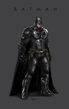 ArtStation - Batman fan art, Aref Ahmadi Araghi