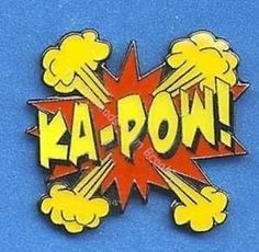 KA POW Cartoon Collector Lapel PIN FUN | eBay