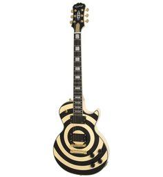 Epiphone Zakk Wylde Les Paul [Top 10 Cool Electric Guitars via Squidoo] #guitar