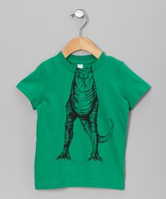 Look what I found on #zulily! Green T. Rex Body Tee - Toddler & Kids by Roobrics #zulilyfinds