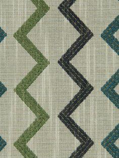 Aqua Fabric Upholstery Yardage Blue and Teal Fabric via Etsy