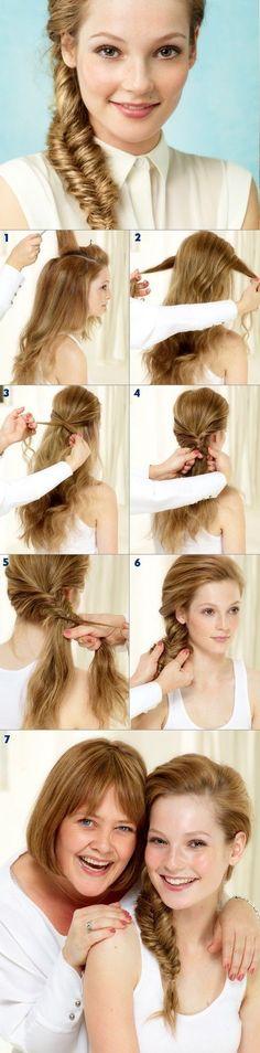 Side-swept Braid Hair You Won't Miss: Hair Tutorials | Pretty Designs