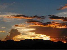 Anochecer en Aguascalientes