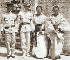YOUNG FILIPINO ADULTS- MANILA 1904 Philippines Dress, Miss Philippines, Philippines Fashion, Philippines Culture, Native Girls, Filipino Culture, Filipiniana, Rough Riders, Pinoy