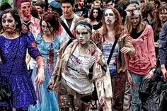 Participate in the Melbourne Zombie Shuffle