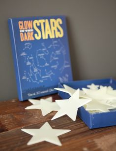 glow in the dark stars for the ceiling (and walls!) more fun for your classroom!