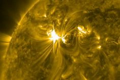 Solar Flare's magnetic storm