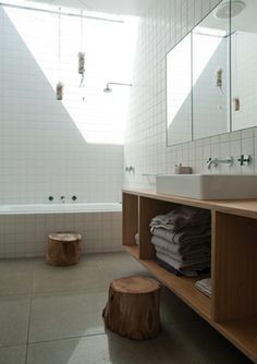 6 Achieving Cool Ideas: Types Of Counter Tops Stainless Steel counter tops kitchen solid surface.Counter Tops Kitchen Solid Surface counter tops with white cabinets kitchen redo. Butcher Block Countertops, Laminate Countertops, Concrete Countertops, Kitchen Countertops, Butcher Blocks, White Bathroom Tiles, White Tiles, Modern Bathroom, Bathroom Wall