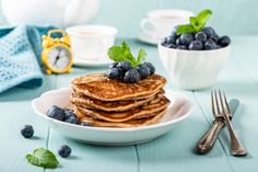 Tasty Pancakes, Ree Drummond, Jamie Oliver, Blueberry, Waffles, Chocolate, Gordon Ramsay, Breakfast, Healthy