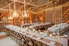 Ideas for styling a wedding with lights