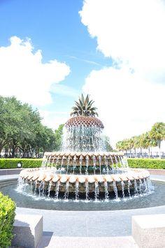 Hospitality Fountain - Waterfront Park, Charleston, South Carolina