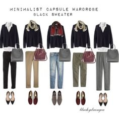 Minimalist Wardrobe - Fall 2015 - Black Sweater