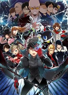 Persona 5 -who is that, staying front with madarame?
