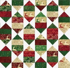 Holiday Nights Layer Cake Pattern | FaveQuilts.com