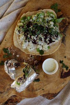 Gluten Free Burrito with Smokey Jalapeno Vegan Mayo