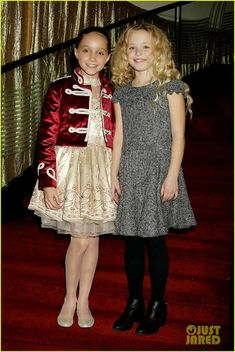 Cameron Seely and Austyn Johnson at an event for The Greatest Showman Childrens Coats, Kids Coats, Showman Movie, The Greatest Showman, Great Movies, Amazing Movies, About Time Movie, Hugh Jackman, Mannequin