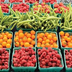 Find an amazing selection of locally-grown fruits and veggies at one of the many farmers markets around Reno!