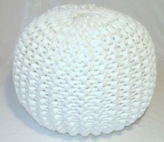 knitted pouf pattern